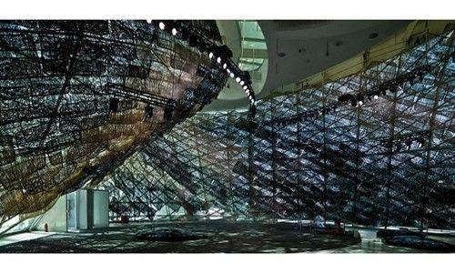 'José manuel ballester: la abstracción en la realidad'. sala de exposiciones alcalá 31, Madrid