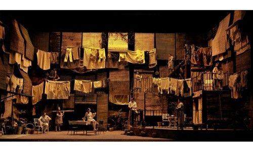 'Una vella, coneguda olor'. teatre nacional de catalunya, Barcelona