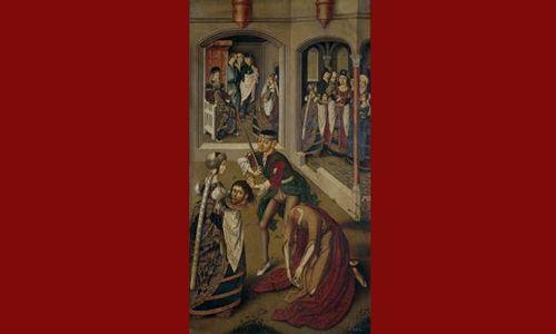 Una obra. un artista: 'Historia de san juan bautista'. Museo del prado, Madrid