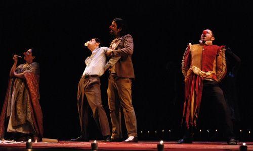 'El nacional, Joglars'. Teatro nuevo Alcalá, Madrid