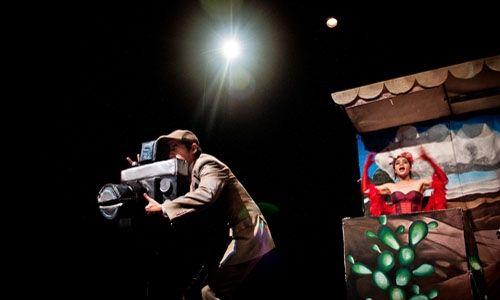 'El país de las metrallas o ratatatatataplán'. Teatro Isabela Corona. Ciudad de México
