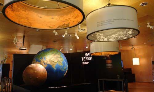 'Marte - Tierra. Una anatomía comparada'. claustre del carme, mahón