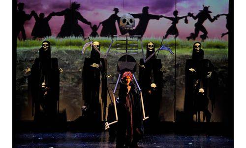'Perséfone'. Teatro maría guerrero, Madrid