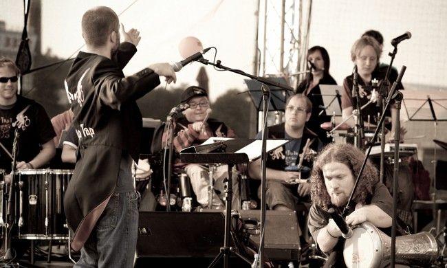 'Desde praga con pasión', concierto del grupo The Tap Tap en el teatro circo Price de Madrid