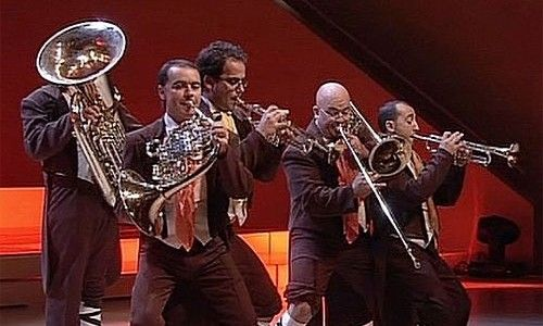 Brass, brass, brass. spanish brass luur metalls en concierto. Barcelona