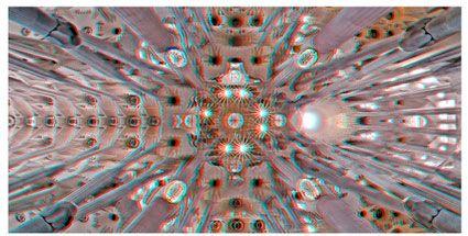 Gaudí mágico, una visión 3d de la obra del autor