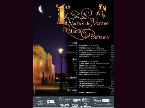 Vuelven las noches de verano en el palacio de la buhaira