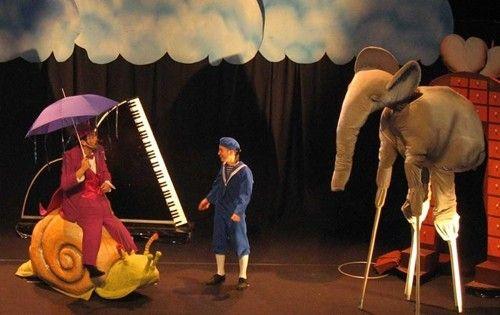 El petit dalí en el teatre poliorama de Barcelona