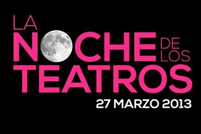 La noche de los teatros el 27 de marzo en Madrid