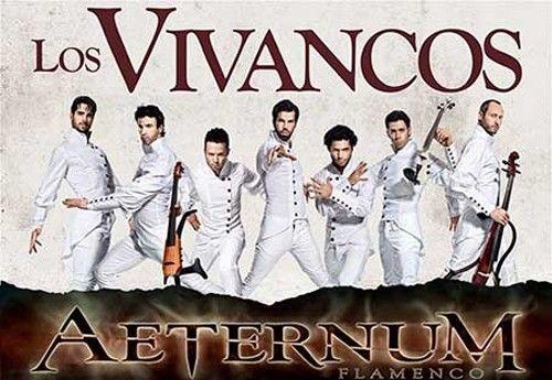 Los vivancos llevan su espectáculo aeternum a Barcelona