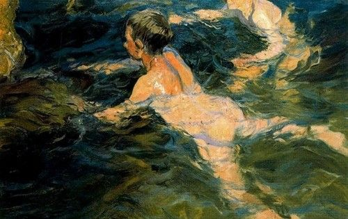 Sorolla, el color del mar, refresca Madrid
