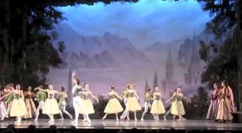 El lago de los cisnes de los russian national ballet en Valencia