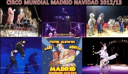 El gran circo mundial se instala en Madrid