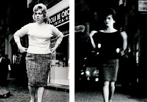 Fotografías de 1957 a 2010 en la exposición 'yo hago la calle' de joan colom