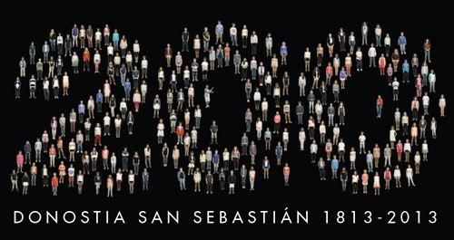 Recorrido audiovisual por la vida de san sebastián en la exposición '200'