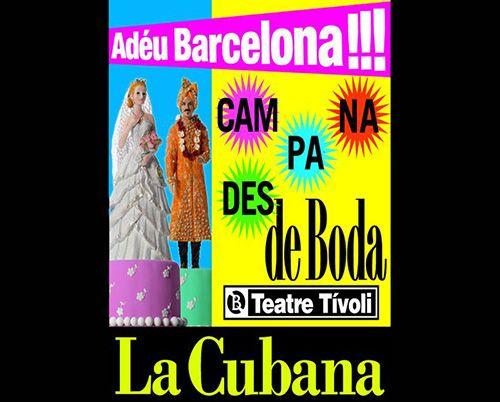 Campanades de boda de la cubana llega a Barcelona
