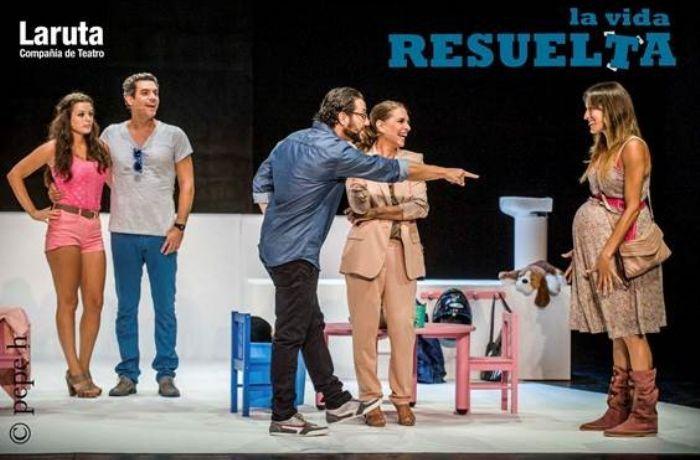Llega al teatre borràs de Barcelona la comedia ´la vida resuelta´