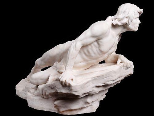 ¡un poco de escultura, por favor! en Barcelona
