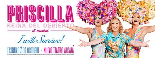 Priscilla, reina del desierto. el musical que arrasa en Madrid