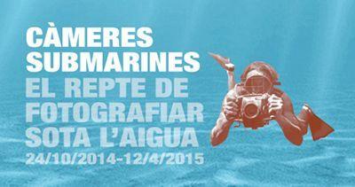 Exposición 'Càmeres submarines. El repte de fotografiar sota l´aigua' en Barcelona