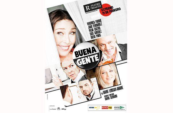 Verónica Forqué protagoniza 'Buena gente' en Madrid