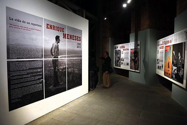 Retrospectiva de Enrique Meneses en Madrid