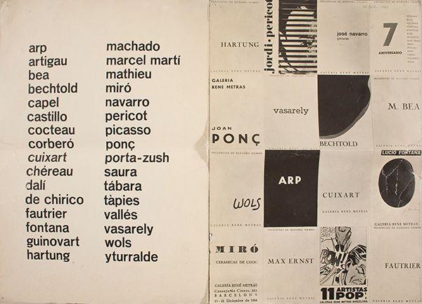 Exposición 'Del segundo origen' en Barcelona