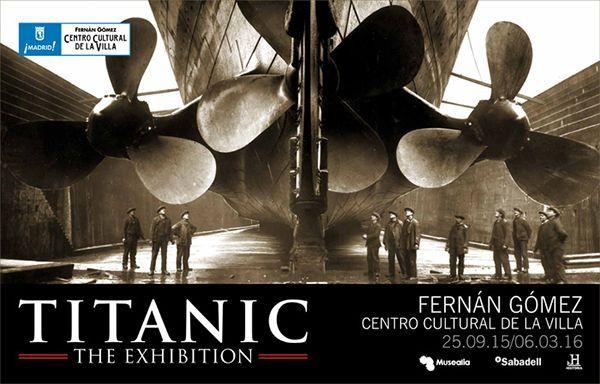 La muestra 'Titanic, The exhibition' atraca en Madrid