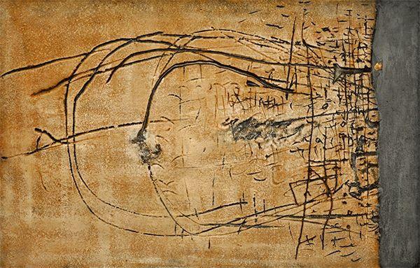Exposición 'Antoni Tàpies. Colección, 1955–65' en Barcelona