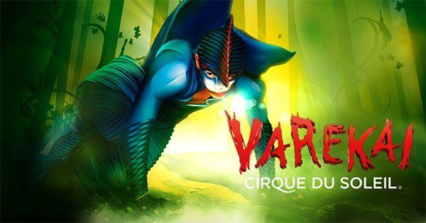 Varekai. Circo del Sol de gira por España