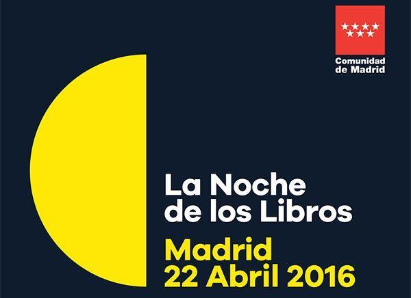 El 22 de abril se celebra la 'Noche de los libros 2016'