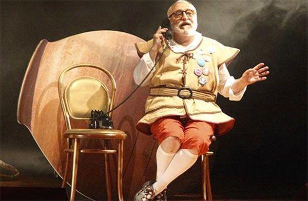 La comedia sobre el Quijote 'Moncho Panza' se estrena en Madrid