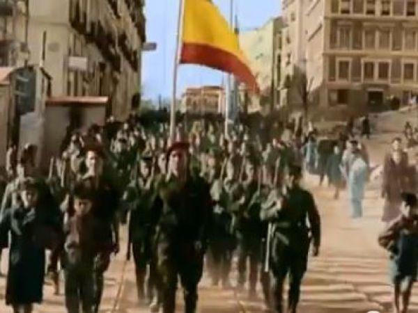 Estreno de cine: documental 'España en dos trincheras: la Guerra Civil en color'