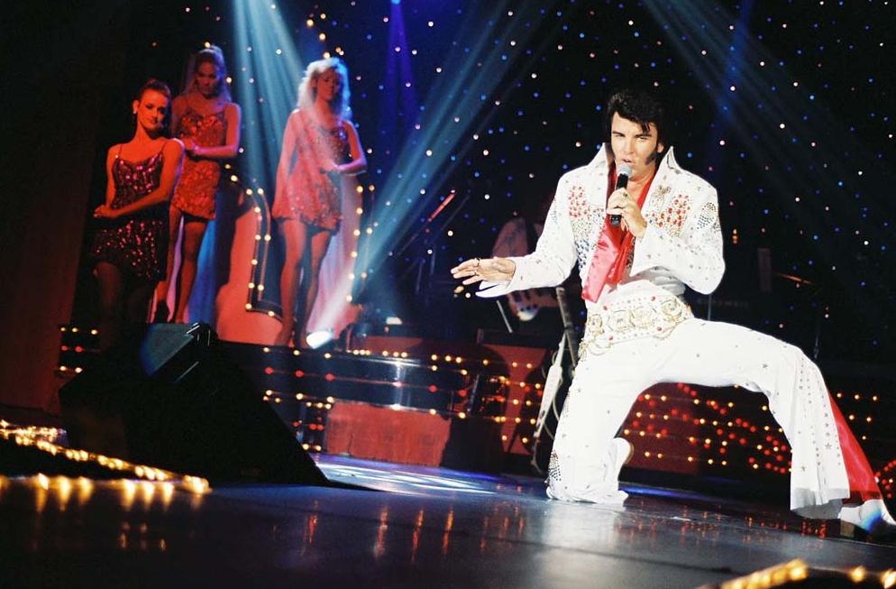 'Elvis vive, tributo a Elvis Presley', en el Teatro Fígaro de Madrid