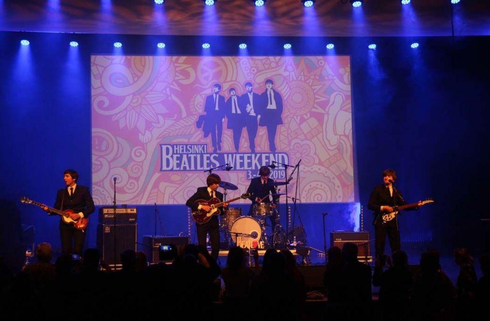 Showbeat: una noche con los Beatles, en el Teatro Fígaro de Madrid