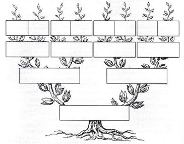 tipos de arboles genealogicos