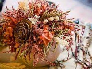 Cómo hacer un centro con flores secas