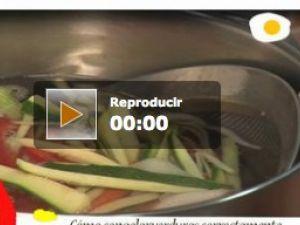 Cómo congelar verduras correctamente