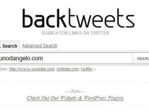 Backlinks desde Twitter