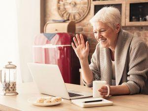 Cómo seguir en contacto con mis nietos desde casa