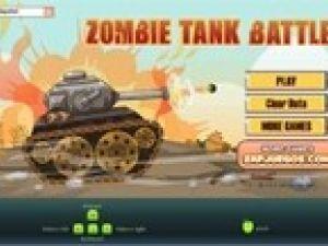 Batalla de tanques y zombies