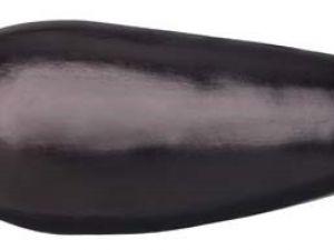 Tarta de berenjenas con jamón y gambas
