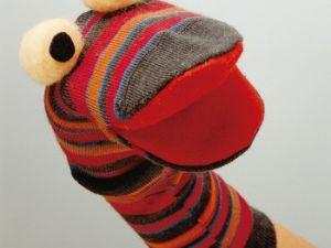El calcetín-marioneta