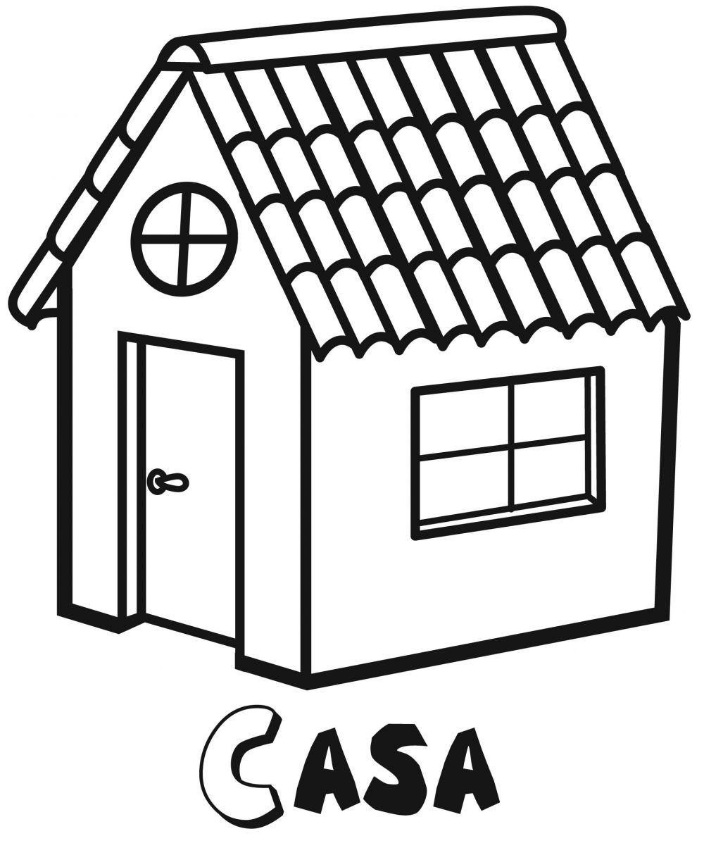 Colorear la casa for Articulos de casa