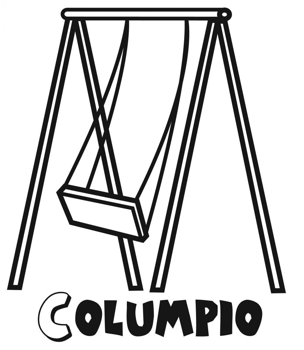 Colorear un columpio for Columpios infantiles