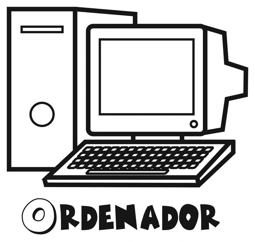 Colorear un ordenador
