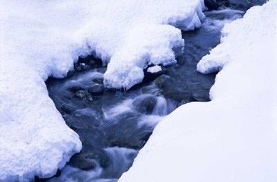 Nieve y agua