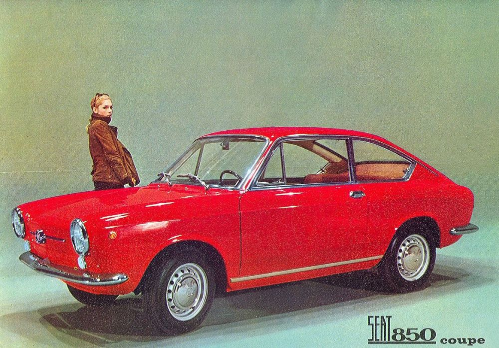 Seat 850 Coupé: el «superdeportivo»