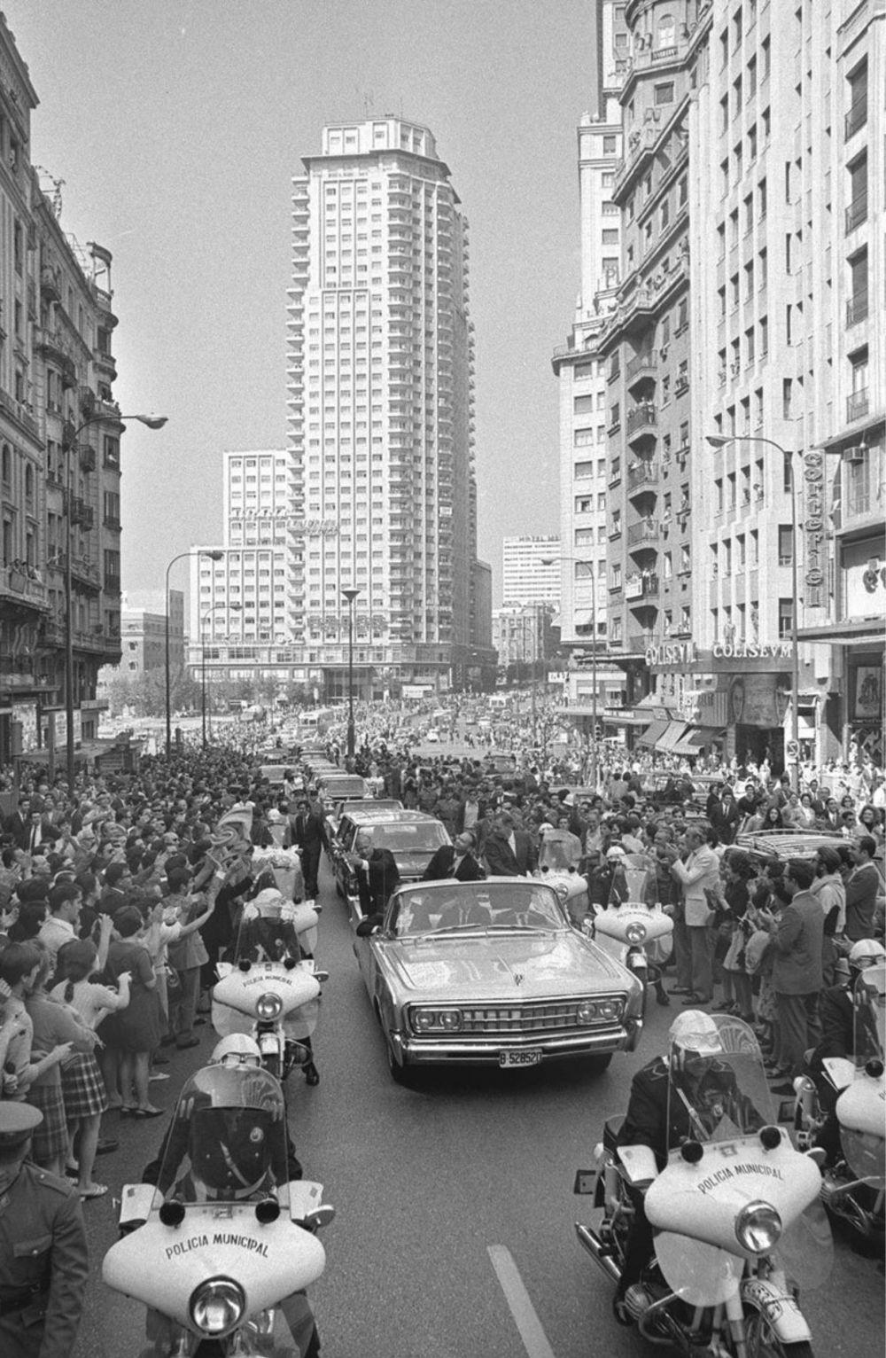 «Los héroes del Apolo XI en Madrid»