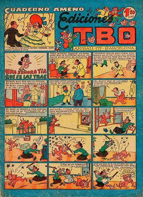Cien años de «TBO»